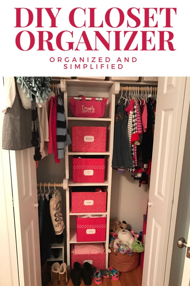 How a DIY closet organizer made a huge difference