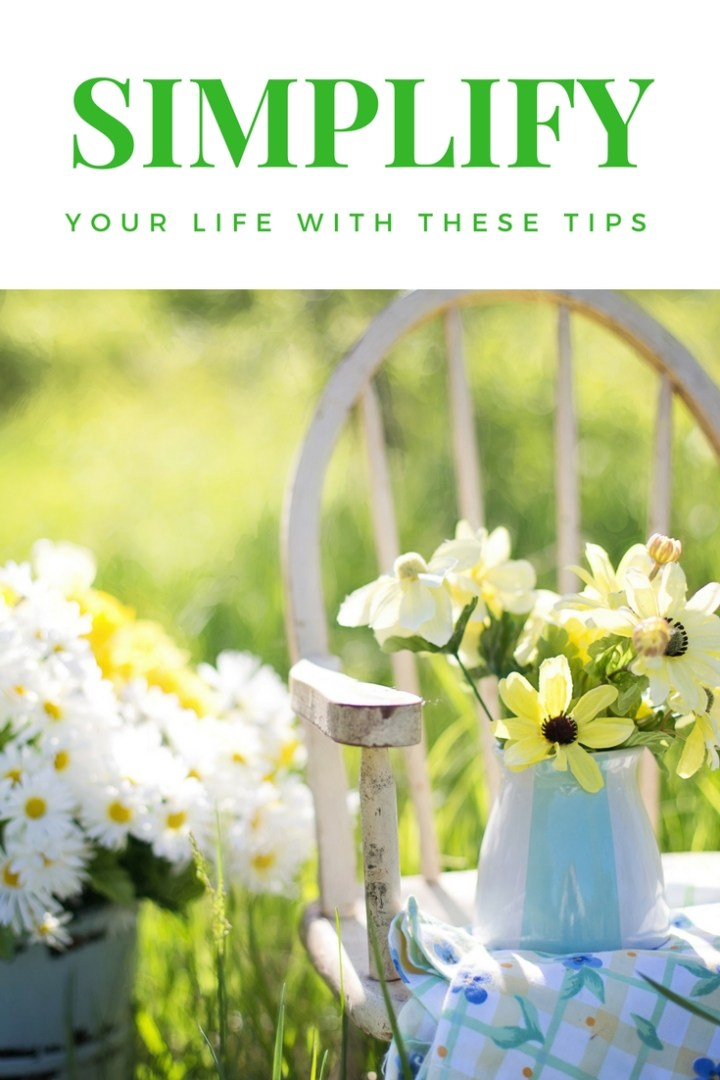 Simplify: tips for a happier and healthier life