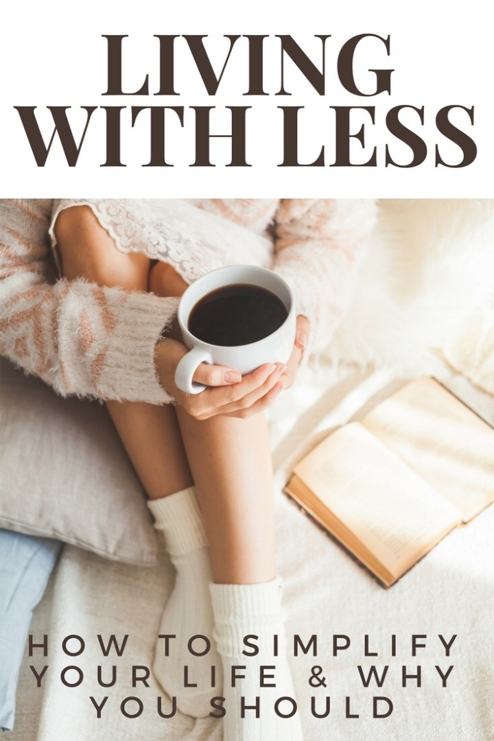 Simplify Saturday: How to live with less