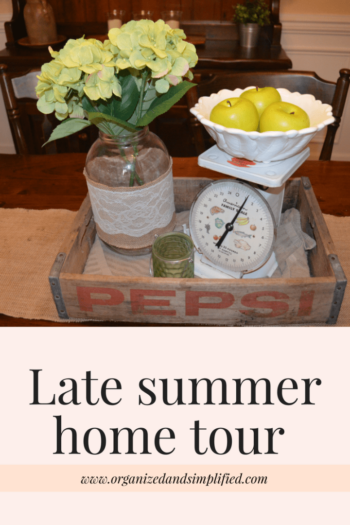 Late summer home tour 2018
