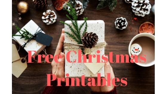 5 Free Christmas Printables