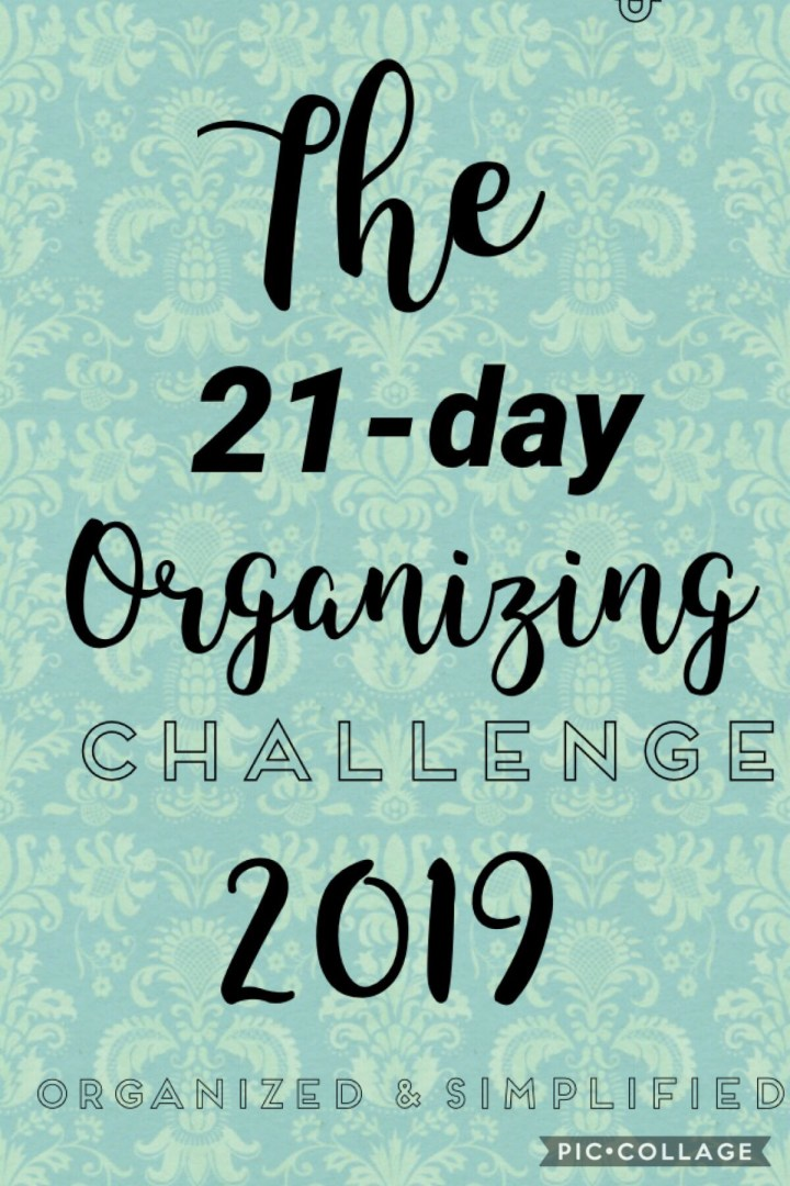 21-day challenge: entry way organization