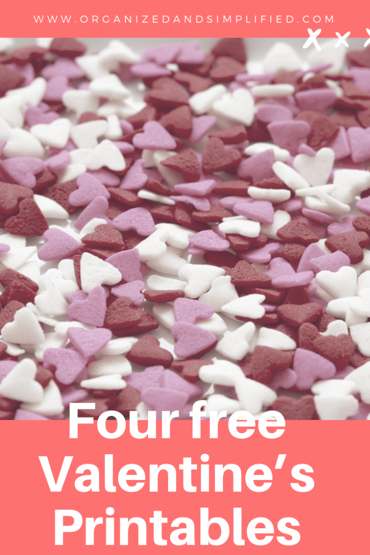 Four free Valentine's Printables