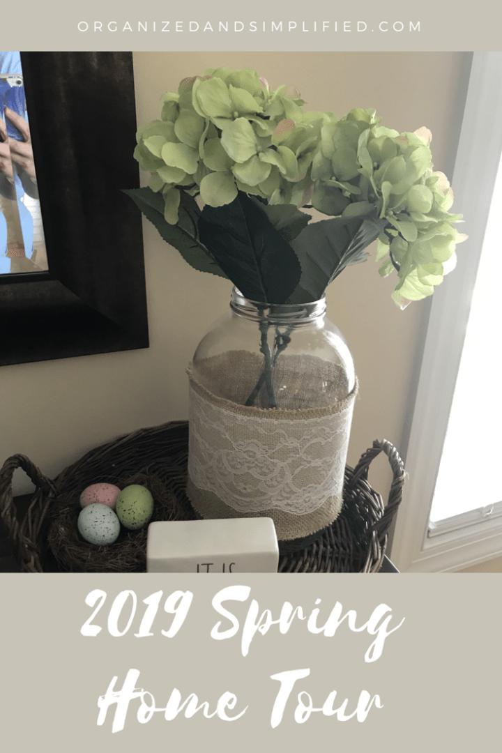 2019 Spring Home Tour