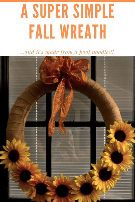A Super Simple Fall Wreath