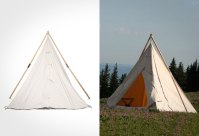 Canvas Tents Camping Old Style Pictures to Pin on ...