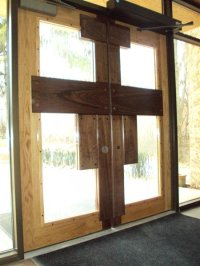 St. Francis Church Entry Doors - by deermann @ LumberJocks ...