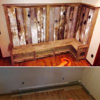 Indiana Barn Wood Bench & Coat Rack