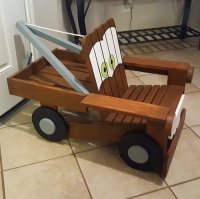 Tow Mater kids chair - by SouthernRustic @ LumberJocks.com ...