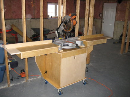 Wood Miter Saw Stand Plans Simple Designs Of Kitchen Cabinets