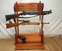 Wall Mounted Gun Rack - by Woodwrecker @ LumberJocks.com ...