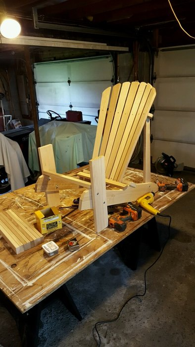 adirondack chair reviews swing jhula price white oak chairs - by joeblowfromwindycity @ lumberjocks.com ~ woodworking community