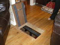 Trap Door To the Basement - by bobdurnell @ LumberJocks ...