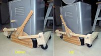 Retracting Casters For Table Saws | Modern Coffee Tables ...