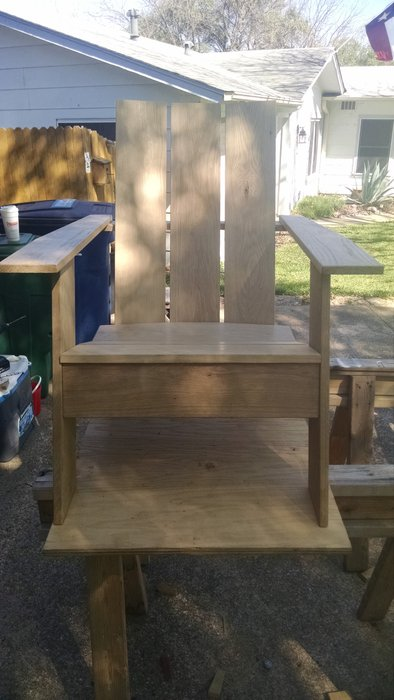 adirondack chair reviews toddler table and chairs walmart modern - by erq @ lumberjocks.com ~ woodworking community