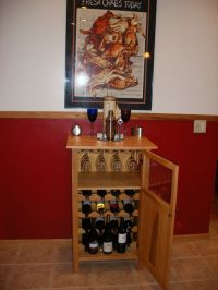 Wine Cabinet Woodworking Plans PDF Woodworking