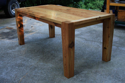 pine kitchen table price pfister faucet parts modern heart by robjones lumberjocks com