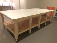 Art Studio Work Table - by Durbs75 @ LumberJocks.com ...
