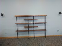 Industrial Look shelving for local church - by DaleMaley ...