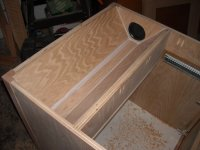 Downdraft / Rolling Tablesaw Storage Cabinet - by ...