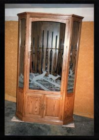 Wall Gun Cabinet Woodworking Plans PDF Woodworking