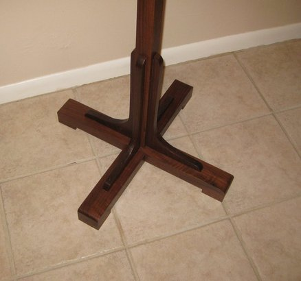 wooden coat rack plans