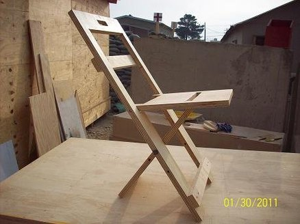 foldable chair plans swing pics folding projects pdf woodworking