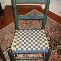 White Ladder Back Chairs Quilted Swivel Chair Woven Bottoms - By Roz @ Lumberjocks.com ~ Woodworking Community