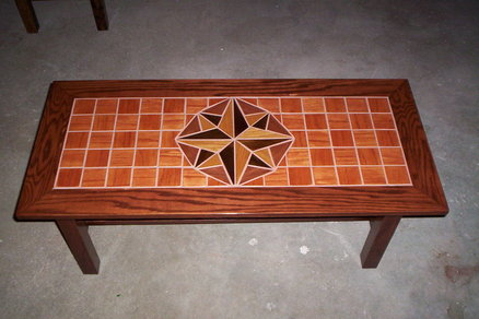 wood tile top coffee table -otis501 @ lumberjocks