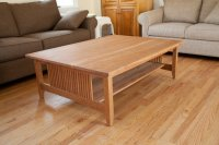 Craftsman style coffee table in cherry - by quadcap ...
