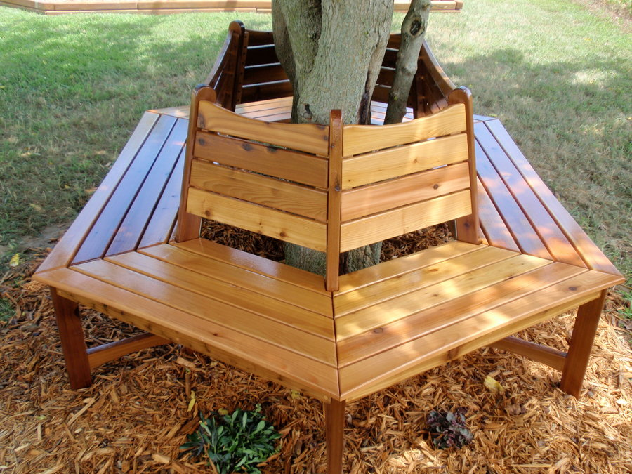 Build Plans Plans Wrap Around Tree Bench Wooden Free