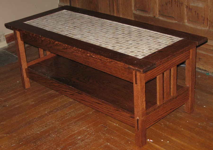 Arts And Crafts Coffee Table  By Legendinmyownmind