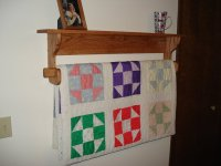 Wood How To Make A Wall Quilt Rack PDF Plans