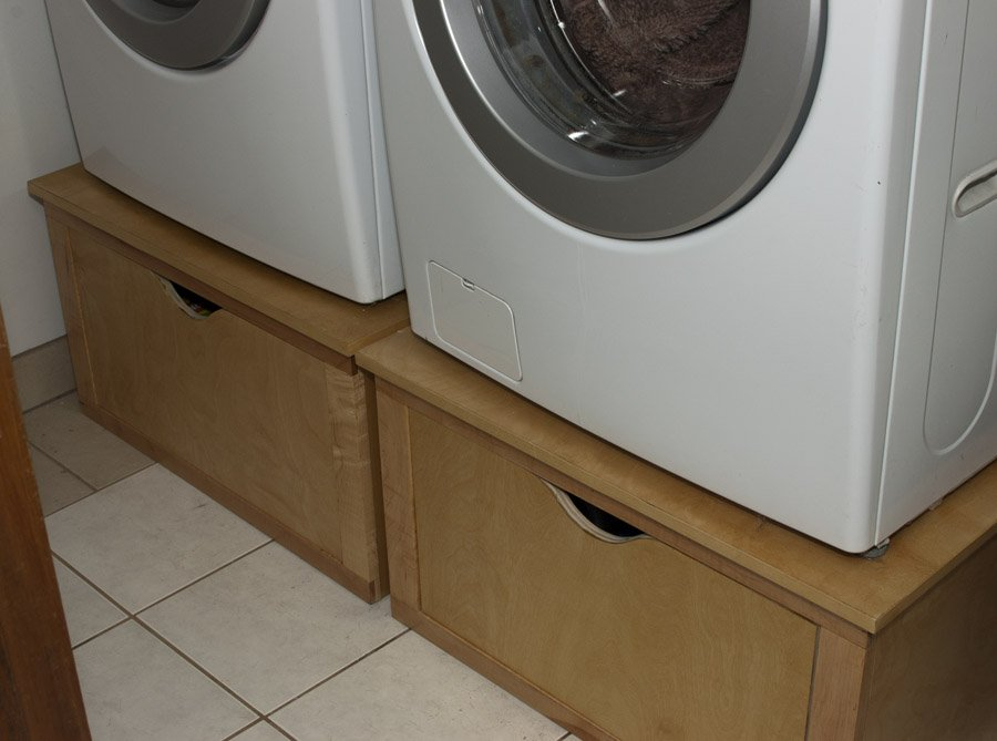 Washer And Dryer Pedestals By Flossy