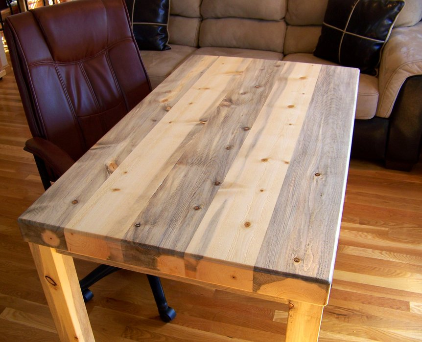 tall square kitchen table touch faucet reviews beetle kill pine desk - by rockyblue @ lumberjocks ...