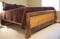 Raised platform bed made of Walnut and Cherry 1.0 - by ...