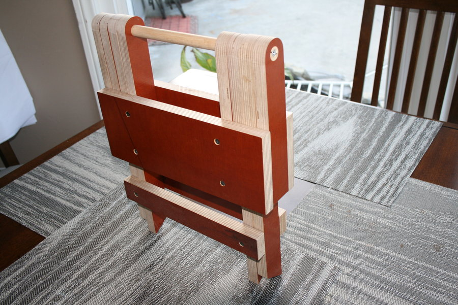 folding step stool wooden plans