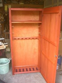 Plans Make Wooden Gun Safe PDF Woodworking