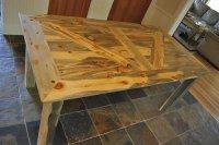 Barn Door Table - by LightfootLtd @ LumberJocks.com ...