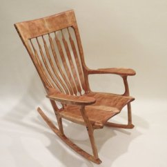 Sam Maloof Rocking Chair Plans Hal Taylor Adirondack Curly Cherry - By Yellowtruck75 @ Lumberjocks.com ~ Woodworking Community