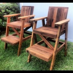 How To Build A Lifeguard Chair Transparent Dining Chairs Plans Woodworking