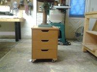 Drill Press Storage Cabinet