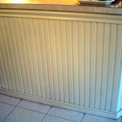 Beadboard Kitchen Island Large Clocks Wainscoting Used For A Bar And By