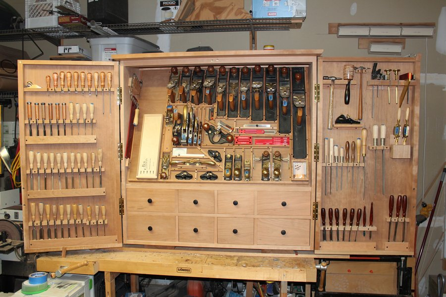 Build Diy Woodworking Tool Storage Cabinet Plans Wooden