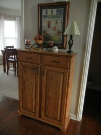 Entryway Storage Cabinet With Doors | Interior Decorating