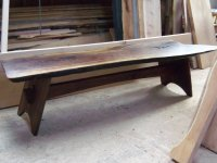 Black Walnut Slab Coffee Table - by pbyrne @ LumberJocks ...