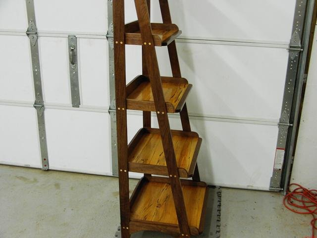 Build Diy Ladder Bookshelves Plans Plans Wooden Honduran Rosewood