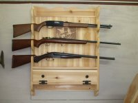Gun Rack - by 49bill @ LumberJocks.com ~ woodworking community