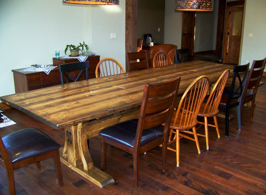 12 Foot Long Dining Table