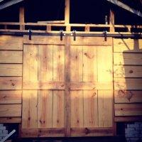 Shed Doors (Barn Style) - by millssnell @ LumberJocks.com ...